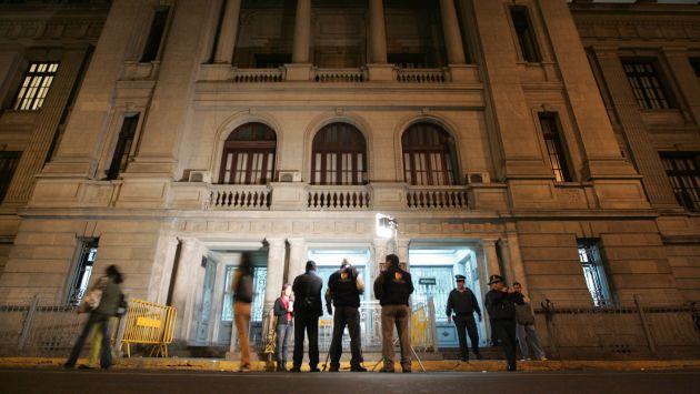 Carceleta de Palacio de Justicia no ofrece las mejores condiciones a los detenidos. (Perú21)