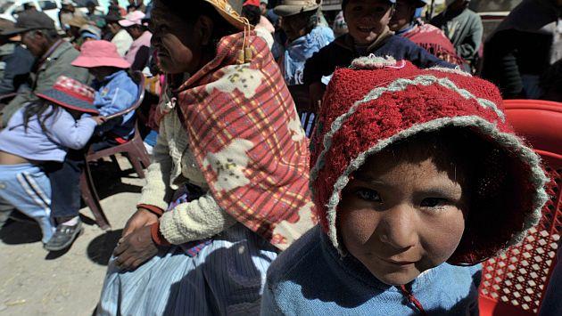 Unicef: Perú redujo mortalidad infantil. (AFP)