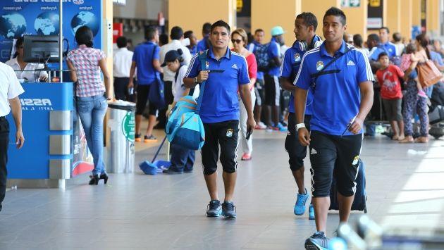 Sporting Cristal llegó a Brasil para enfrentar a Atlético Paranense.  (USI)