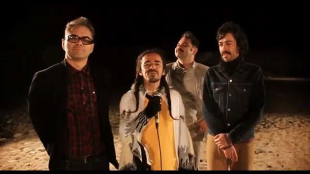 Banda mexicana grabó su videoclip en Paracas. (Captura)