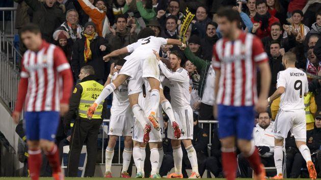Real Madrid se acerca a la final de la Copa del Rey. (AP)