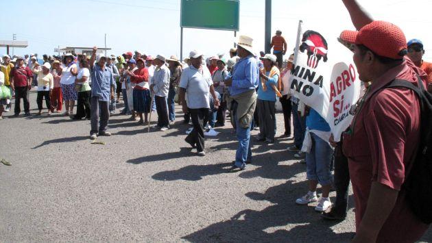 Protestas en Pilcuyo. (USI/Referencial)