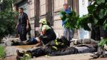 Argentina: Sube a nueve los muertos por incendio y derrumbe en Barracas - Noticias de sergio berni