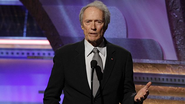Un verdadero héroe: Clint Eastwood salvó a un hombre de morir asfixiado. (AP)