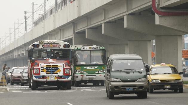 Municipalidad de Lima declaró saturadas el 81% de vías en la capital. (USI)