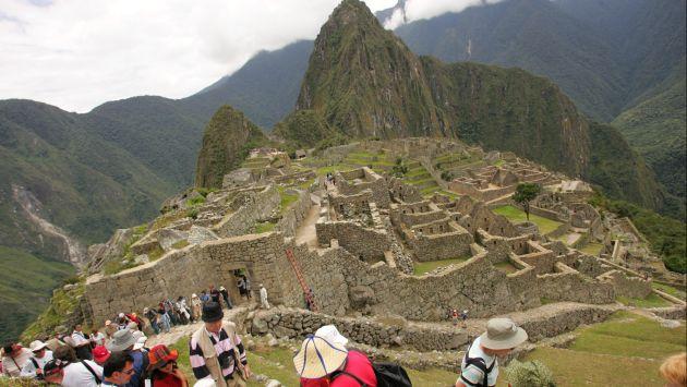 Turistas chilenos quedaron varados en Machu Picchu. (USI/Referencial)