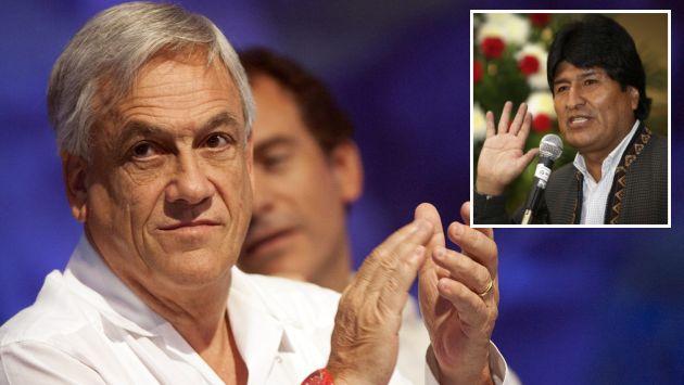 Sebastián Piñera dijo que Morales falta a la verdad en los últimos tiempos. (EFE/Reuters)