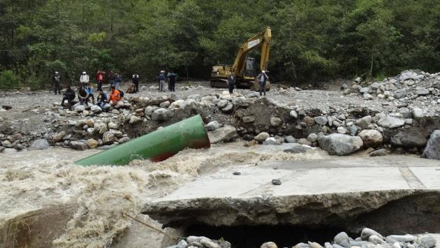 Machu Picchu: Trasladaron a turistas que quedaron varados. (Percy Hurtado/USI)