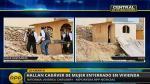 San Juan de Lurigancho: Hallan a mujer desaparecida enterrada en su vivienda - Noticias de maria giovana vilchez pena