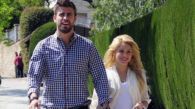 Shakira dice que a Piqué le gusta tener todo bajo control. (Internet)
