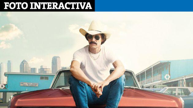 Dallas Buyers Club: Todo sobre la nominada al Oscar 2014 [Foto Interactiva]. (Perú21)