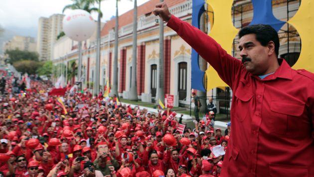 Venezuela: Nicolás Maduro arremete contra Santos por llamar al diálogo. (AFP)
