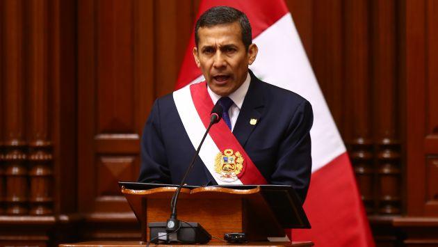 """Ollanta Humala """"llamado a la calma y al diálogo"""" en Venezuela. (USI)"""