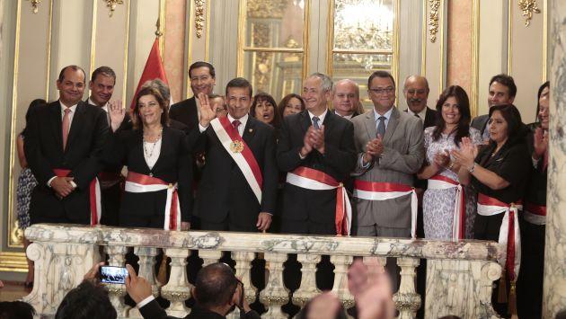 René Cornejo: Así está conformado el gabinete del quinto premier de Humala. (Martín Pauca)
