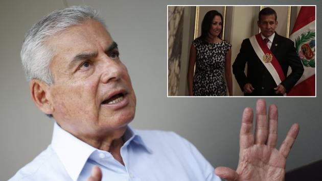 Para Villanueva, la influencia de Heredia sobre Humala no ayuda a institucionalizar el país. (C. Fajardo/M. Pauca)