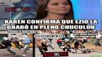 Karen Schwarz y Ezio Oliva: Memes por video sexual que protagonizaron - Noticias de ezio oliva