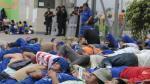 Comerciantes de Santa Anita realizan paro contra Emmsa - Noticias de gran mercado mayorista de lima