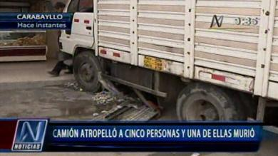 Accidente de tránsito, Carabayllo
