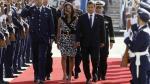 Nadine Heredia rompe estricto protoloco al llegar a Chile - Noticias de luis gonzales posada