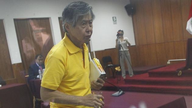 Ratifican que régimen de Fujimori desvió fondos para financiar panfletos contra opositores. (USI)