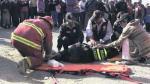 Arequipa: Auto atropella a mujer policía - Noticias de torres olaya