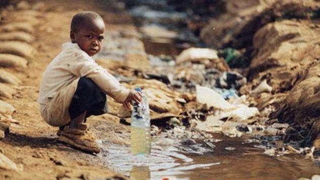 A diario mueren 1.400 niños en el mundo por falta de agua. (Internet)