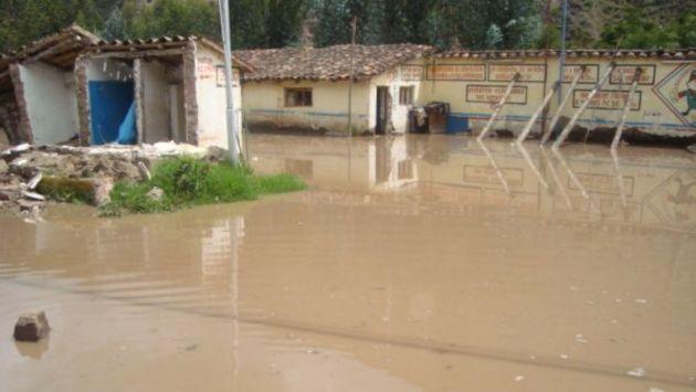 Río Huallaga se desborda y afecta distrito de Amarilis. (Difusión)