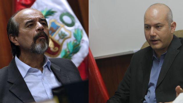 Informes de la Megacomisión enfrenta a Mauricio Mulder y Sergio Tejada. (Perú21)