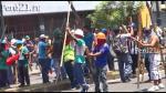 Mineros ilegales no reconocen acuerdo y desatan caos y vandalismo en Lima - Noticias de jirón cotabambas