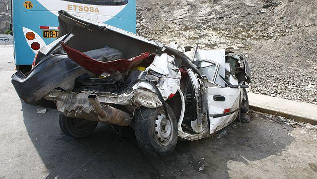accidente, camioneta, tacna