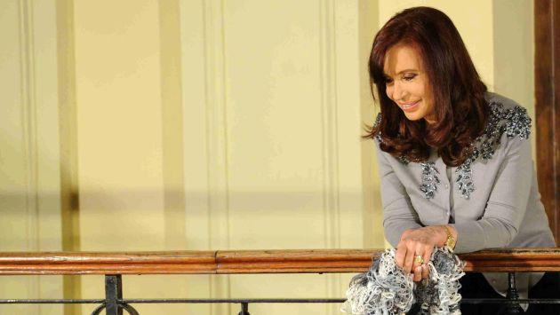 Cristina Fernández indicó que los que tienen plata consumen droga de la buena. (EFE)