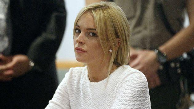 Lindsay Lohan está en bancarrota. (Reuters)