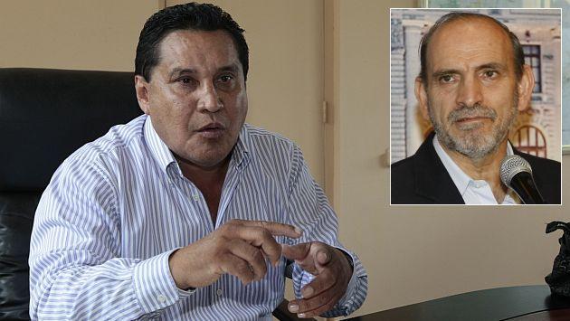 Carlos Burgos denuncia a Yehude Simon por cuatro delitos. (USI)