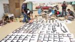 Encuentran arsenal en Punta Hermosa - Noticias de dirin