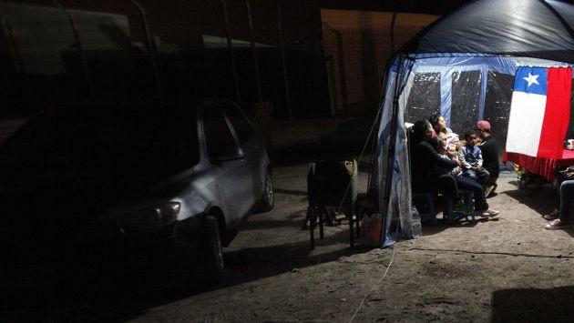 Chile: Fuerte temblor sacude cuatro regiones en el centro. (EFE)