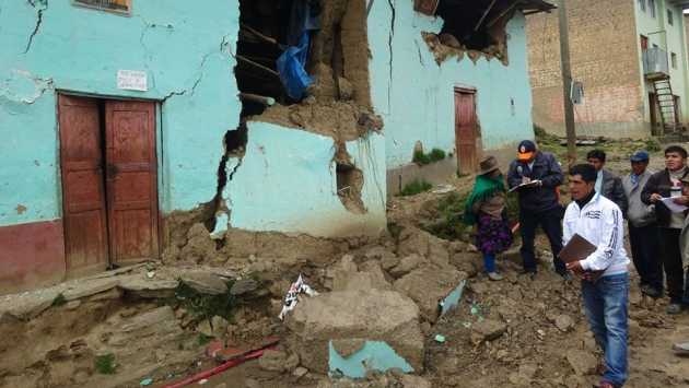 Lluvias destruyen más de 50 viviendas en Huánuco.  (Esteban Soriano)