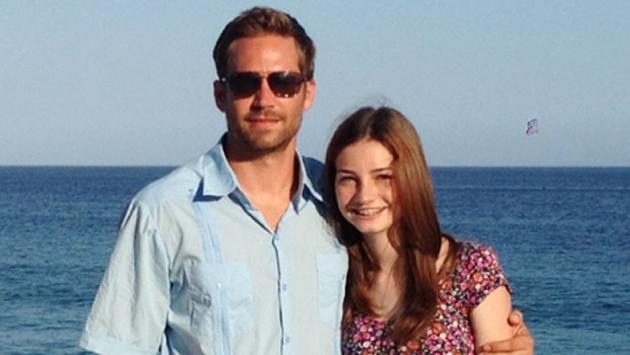 Paul Walker y su hija cuando eran muy unidos. (Egomoda.com)