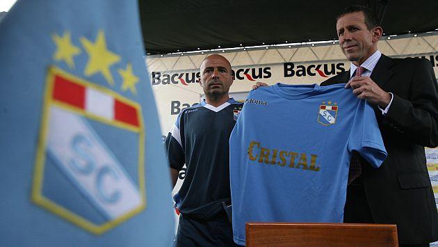 Jorge Sampaoli la pasó mal en Cristal. Ahora es un DT exitoso y estará en el Mundial con Chile. (USI)