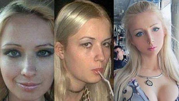 Así es el aspecto real de la Barbie humana sin maquillaje