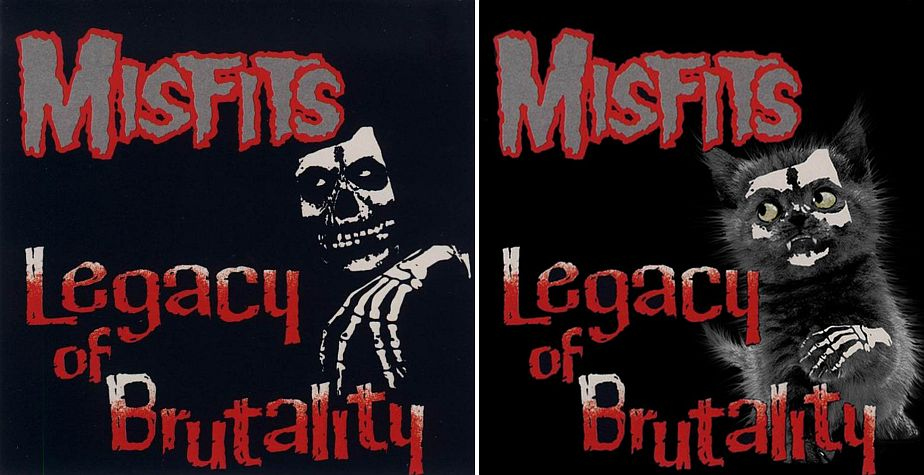 Misfits. (the kitten covers)