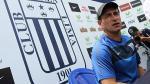 """Guillermo Sanguinetti: """"Alianza Lima busca ser el mejor y terminar invicto"""" - Noticias de juan guillermo aguirre"""