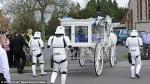 Star Wars: Cumplen último deseo de niño con funeral temático en Reino Unido - Noticias de jack robinson