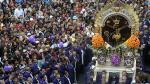 Semana Santa: Señor de los Milagros recorre calles de Lima - Noticias de cristo moreno