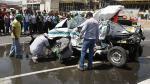 Accidentes de tránsito: 2012 fue el peor año con más de 4,000 muertes - Noticias de hector plate
