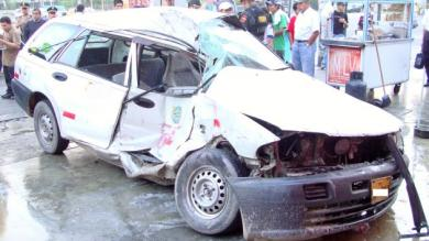 Accidentes de tránsito, Surco, Hospital Dos de Mayo