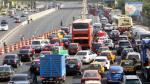 Semana Santa: Masivo retorno de vehículos a Lima tras feriado largo - Noticias de feriado puente