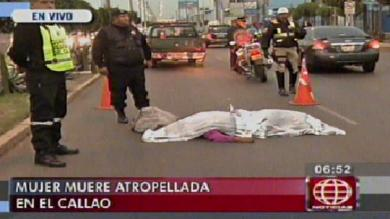 Callao, Accidente de tránsito