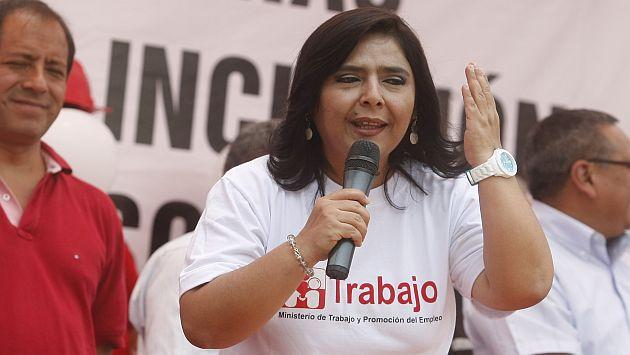 Ana Jara dice que Gana Perú no dejará el Congreso. (USI)