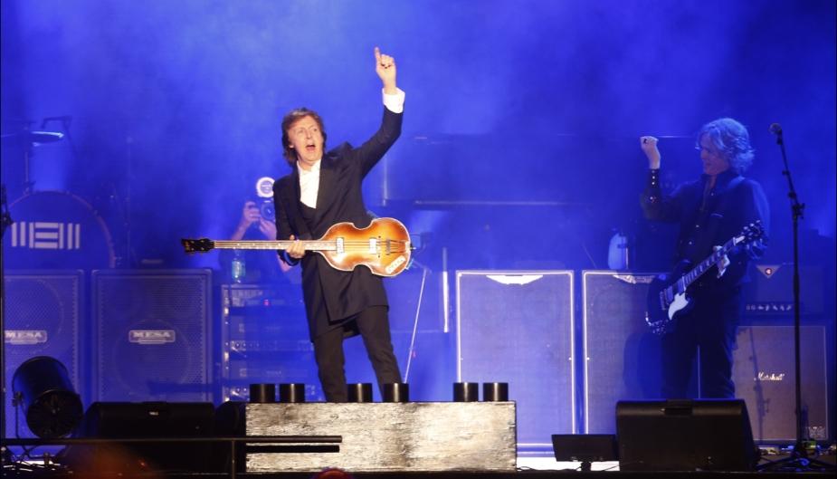 Paul McCartney se apresentou pela segunda vez no Peru