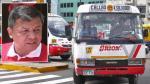Orión: Alcalde del Callao endurecerá sanciones si empresa incumple normas - Noticias de accidentes de tránsito